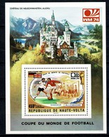 Haute Volta 1974  Yv. Bl 5**, Mi Bl 27** Worldcup / Coupe Du Monde De Football - MNH - Haute-Volta (1958-1984)