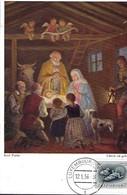 12.1.1956  -  CHRIST IST GEBOREN   Karl Fuchs - Maximum Cards