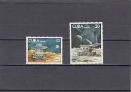 Cuba Nº A279 Al A280 - Aéreo