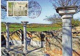 Carte Maximum VILLA GALLO ROMAINE  Obl Spe 1er Jour Illustrée  MONTMAURIN Editions A.Baudry - 2010-...