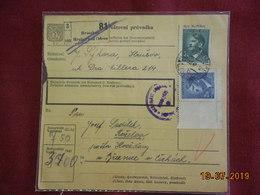 Carte (bulletin) De 1942 Affranchie Avec Deux Timbres - Bohême & Moravie