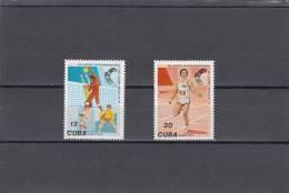 Cuba Nº A288 Al A289 - Airmail