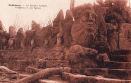35 ROTHENEUF . Les Rochers Sculptés Monsieur De Rotheneuf . CPA  Année 1930 Edit H.BREBION,  Impeccable N°1 - Rotheneuf
