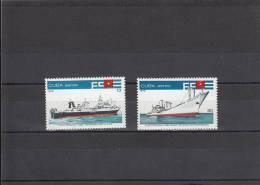Cuba Nº A298 Al A299 - Aéreo