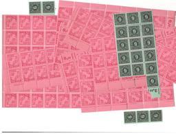 SBZ MV Gr. Bogenteile 8 Pfennig Mi-Nr.: 11xa Postfrisch Mit Druckvermerk Und Kl. Einheit 6 Pfg.**Lot VII - Sowjetische Zone (SBZ)