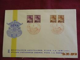 Lettre (fdc)  De 1941 - Bohême & Moravie