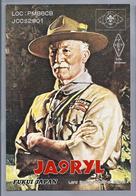 JP.- QSL KAART. CARD. JAPAN. JA9RYL. FUKUI. Hiroaki Tsujiura. Lord Baden-Powell Of Gilwell. JARL. Scouting. Padvinder.. - Radio Amatoriale
