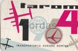 Romania - Tarom - Calendar - Advertise - 1964 - 60x95mm - Calendars
