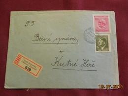 Lettre De 1943 En Recommandé - Bohême & Moravie