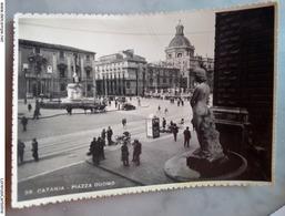Catania  Piazza Duomo VIAGGIATA 1948 - Catania