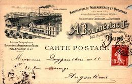 > [37] Indre Et Loire   TOURS. - MANUFACTURE DE PASSEMENTERIESet BRODERIES / - Tours