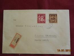 Lettre De 1944 En Recommandé - Bohême & Moravie