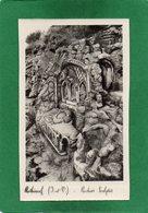 35 ROTHENEUF . Les Rochers Sculptés Monsieur De Rotheneuf . CPA  Année 1930 Edit H BREBION   Impeccable N°15 - Rotheneuf