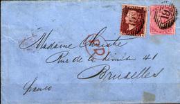 Gran Bretaña Nº 14 Y 18. Año 1855/57 - 1840-1901 (Victoria)