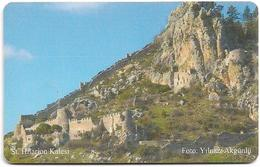 North Cyprus - Chip - K.K.T.C. - St. Hilarion Kalesi, 11.2007, Gem5 Red, 100U, 347.500ex, Used Rare - Cyprus