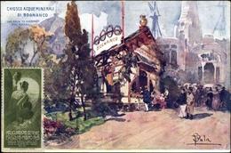 Artiste Cp Milano Mailand Lombardia, Esposizione 1906, Chiosco Acque Minerali Di Bognanco - Other