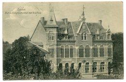 CPA - Carte Postale - Pays-Bas - Eysden - Post En Telegraafkentoor Met Raadhuis - 1908 (B9440) - Eijsden