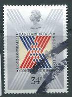 GROSBRITANNIEN GRANDE BRETAGNE GB 1986 PARLIAMENT: STYLISED CROSS ON BALLOT PAPER  34P SG 1335 SC 1156 MI 1083 YT 1238 - 1952-.... (Elisabeth II.)