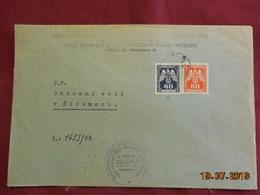 Lettre  De 1944 - Bohême & Moravie