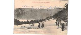 Une Caravane De Skieurs à Travers La Montagne - Frankreich