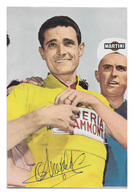 CARTE CYCLISME HENRY ANGLADE SIGNEE SERIE TARJEFHER - Wielrennen