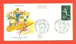 PALLAMANO - FRANCIA - CAMPIONATI DEL MONDO - 1970 - Pallamano