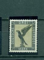 Deutsches Reich,Flugpost Adler Auf Sockel,  Nr. 384 Falz * - Ungebraucht