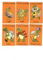 Cartes à Jouer Jeu 5 Familles DROLES D'ANIMAUX Pomme D'API - Poule Tortue Taupe Cerf Parapluie Coq Chasseur ARAIGNÉE - Andere