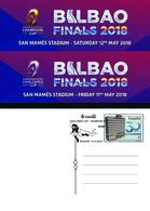 Spain 2018 - Challenge Cup- Champion Cup. Rugby. Basauri Special Postmark Postcard - 1931-Hoy: 2ª República - ... Juan Carlos I