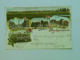 Hungary M10 Nagy Kanisza Nagykanisza 1900 Litho - Hungary