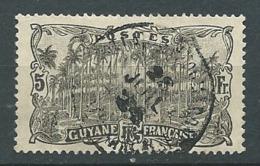 Guyane Française    - Yvert N° 65 Oblitéré    - Ah 31334 - Französisch-Guayana (1886-1949)