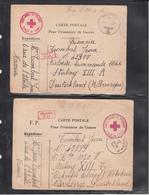 Cartes Pour Prisonnier De Guerre - WW2