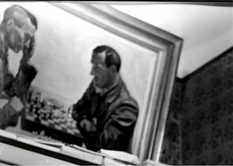 ! 1 Foto, Photo Format 24cm X 17,7cm Gemälde Schachspieler , Schach, Chess, Echecs - Schach