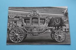 De Gouden Koets ( Stamp M. H. V. EIJSBERGEN Den Haag ) Anno 19?? ( Voir / Zie > Foto ) NL ! - Familles Royales