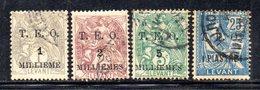 APR1888 - SYRIA SIRIA 1919, Quattro Valori Usati  (2380A) - Syrie (1919-1945)