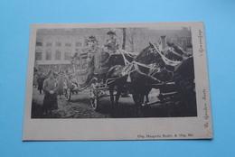 De GOUDEN KOETS 's Gravenhage (Haagsche Boekh. ...) Anno 19?? ( Voir / Zie > Foto ) ! - Familles Royales