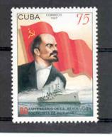 Cuba 1997 Lenin, October Revolution, 80th Anniversary. MNH. Scott 3884  Value $1.75 - Nuevos