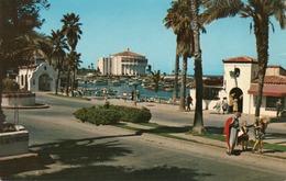 CATALINA ISLAND-AVALON CRESCENT AVENUE-CASINO-NON VIAGGIATA - Los Angeles