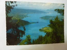 Le Lac D'Annecy - Depuis Le Col De La Forclaz, Vue Générale Du Lac Et La Baie De Talloires - Annecy