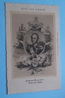 HUIS Van ORANJE Koning WILLEM II Prins Van Oranje (Josephus Nuss.) Anno 19?? ( Voir / Zie > Foto ) ! - Familles Royales