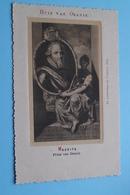 HUIS Van ORANJE - MAURITS Prins Van Oranje (Josephus Nuss.) Anno 19?? ( Voir / Zie > Foto ) ! - Familles Royales