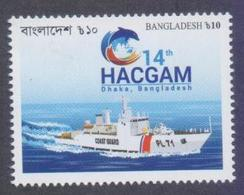 BANGLADESH 2018 - Coast Guard, Ship, 1v MNH - Bangladesh