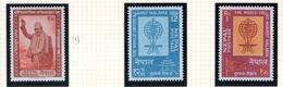1961 - NEPAL  -  Mi. Nr.  138+144/145 - NH - (CW4755.42) - Nepal