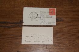 """l'animal Souffre Aussi"" 1932 Paris - Postmark Collection (Covers)"