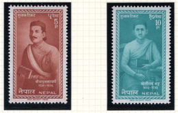 1962 - NEPAL  -  Mi. Nr.  150/151 - NH - (CW4755.42) - Nepal