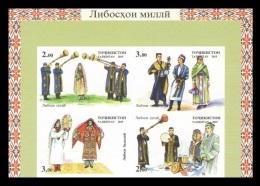 Tajikistan 2015 Mih. 706B/09B Traditional Costumes (imperf) MNH ** - Tadschikistan