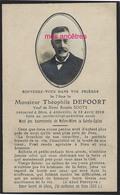 En 1918 Abbeville (80) Théophile DEFOORT Ep Rosalie SOOTS 84 Ans - Décès