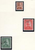 1962 - NEPAL  -  Mi. Nr.  155+159/160 - Used - (CW4755.42) - Nepal
