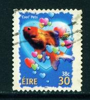 IRELAND  -  2001 Greetings Self Adhesive 30p Used As Scan - 1949-... Republic Of Ireland