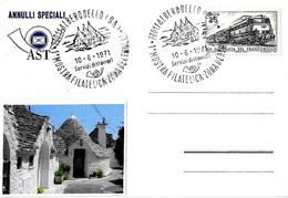 ITALIA - 1971 ALBEROBELLO (BA) 1^ Mostra Filatelica Nella Zona Dei Trulli - Vacanze & Turismo